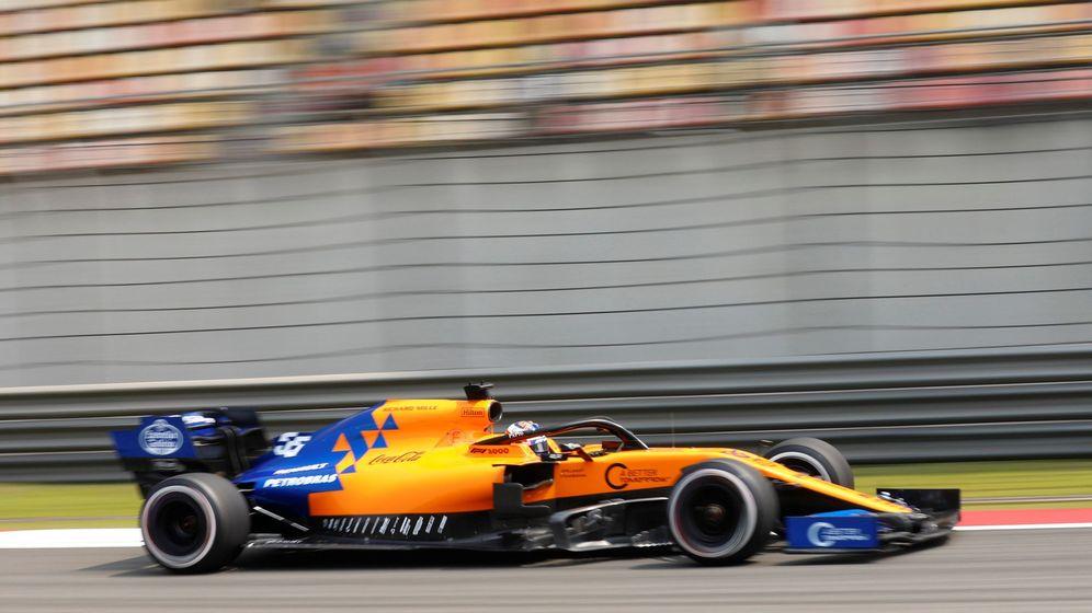 Foto: McLaren y Sainz siguen dejando buenas sensaciones. (EFE)