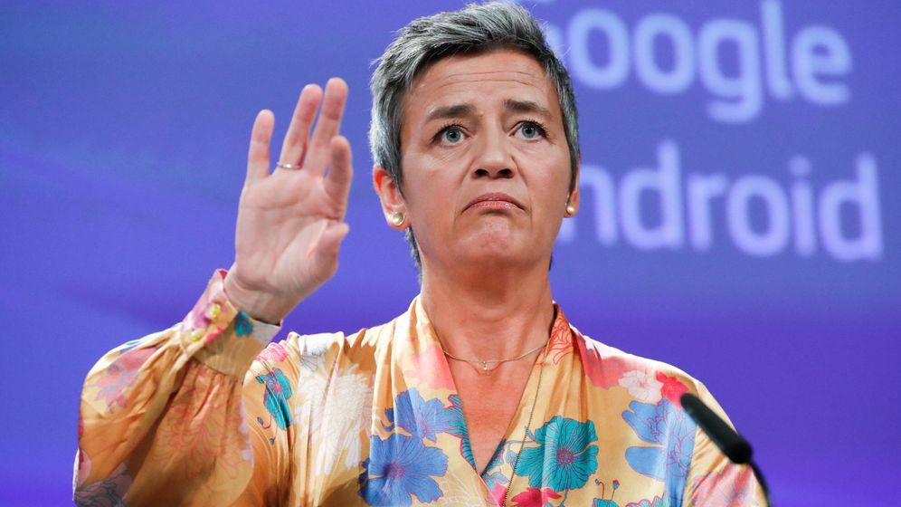 Foto: Margrete Vestager, comisaria de Competencia y pesadilla de las multinacionales espabiladas (REUTERS)