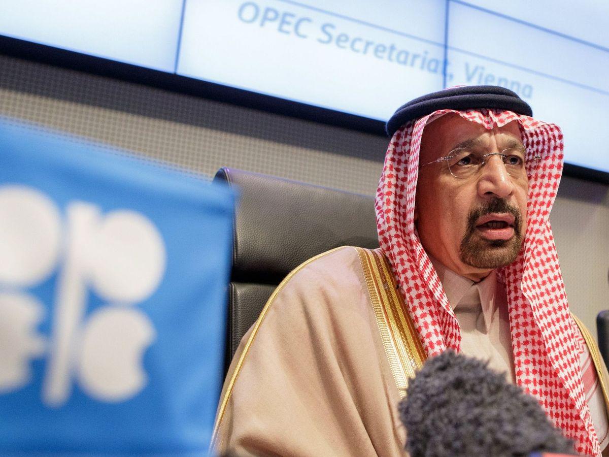 Foto: ministro de Energía saudí, Jaled al Faleh, a su llegada a una reunión de la Organización de Países Exportadores de Petróleo (OPEP), en Viena (Austria) (EFE)