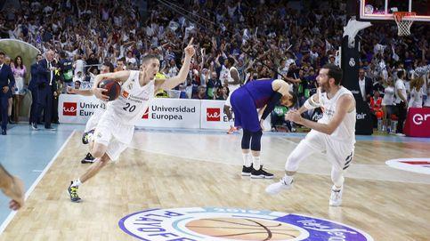 El triple para la historia de Carroll que deja al Real Madrid un paso del título de la ACB