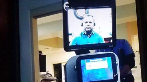 Un hospital comunica a una familia con un robot que el padre va a morir