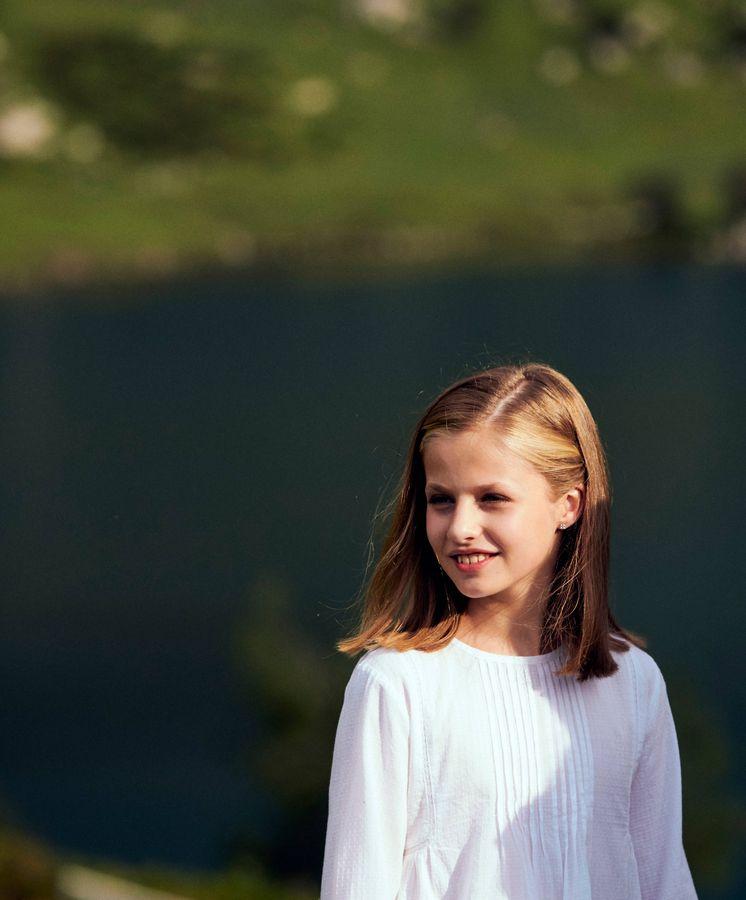 Foto: La princesa Leonor en Asturias. (Limited Pictures)