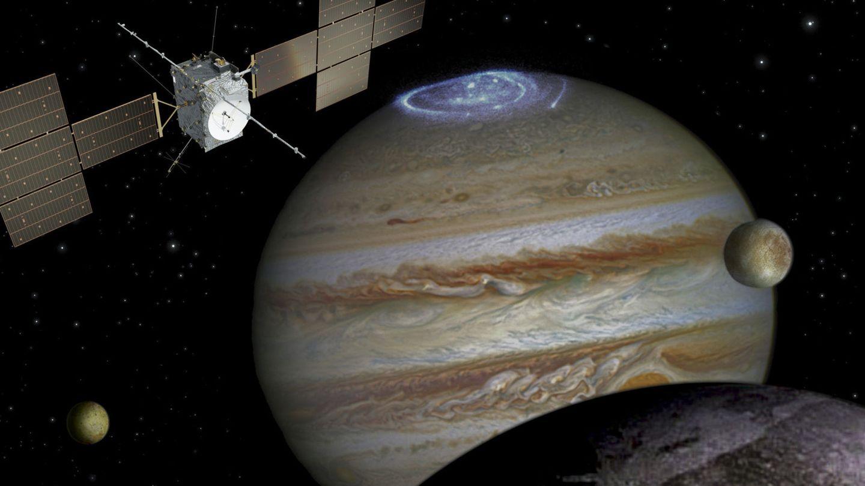 La NASA ultima el envío de una sonda espacial a la zona a Europa. Foto: EFE