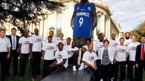 Nike, multado por 'vandalismo': vistió a Churchill con la camiseta de Parker