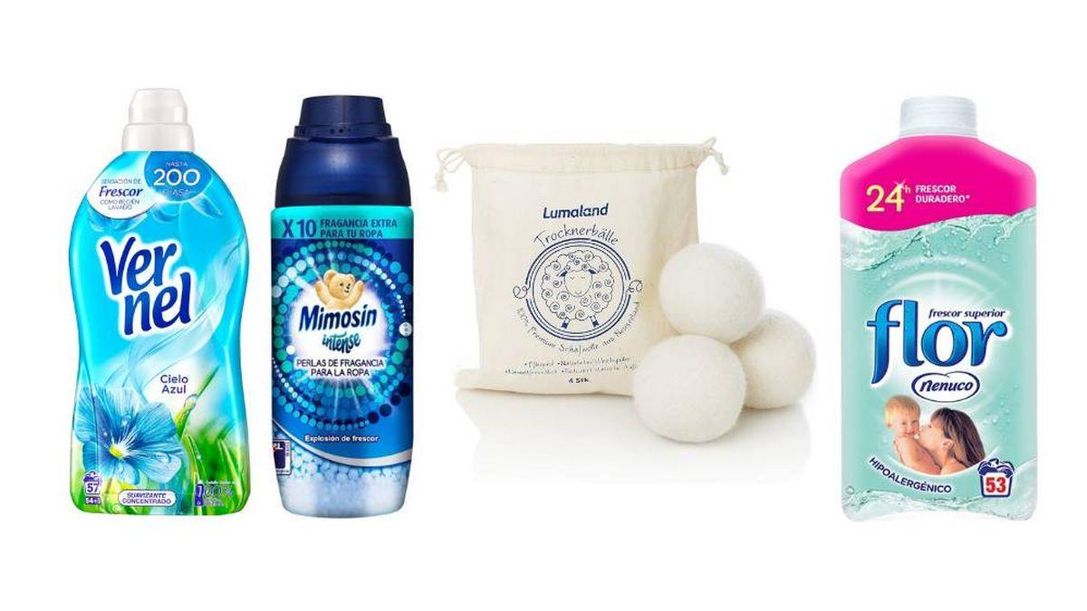 Los Suavizantes Para Que La Ropa Salga Fresca Suave Y Con Buen Olor De La Lavadora