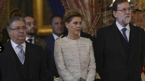 Cospedal expresa ante el Rey el compromiso de los Ejércitos con la unidad de España