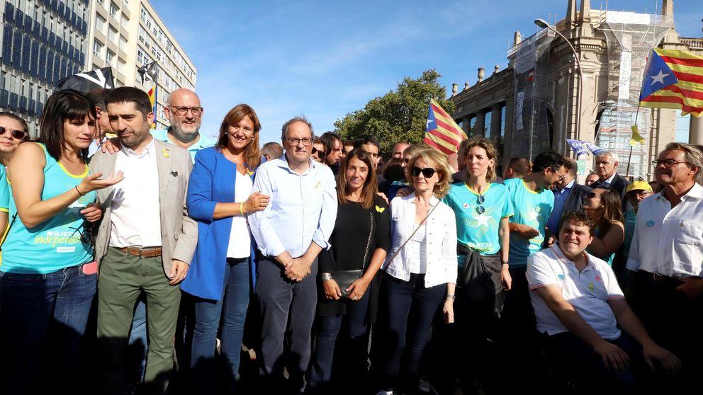 Òmnium arrebata a la Generalitat la centralidad del independentismo