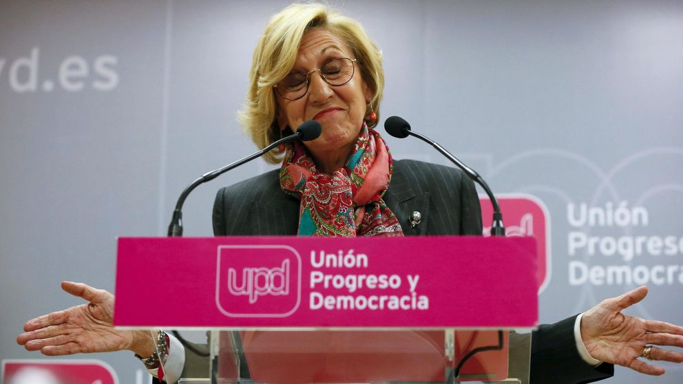 Rosa Díez arrasa frente los críticos pero convocará un Congreso después de mayo