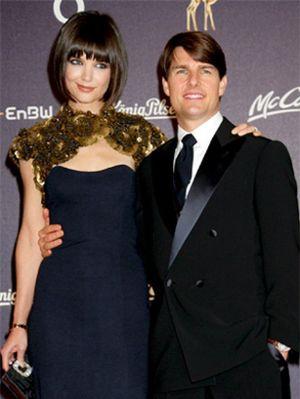 Katie Holmes le quita el puesto a Nicole Kidman