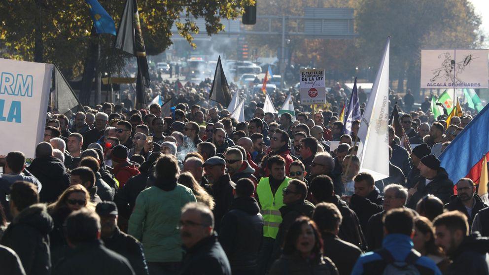 Directo   Los taxistas amenazan con la huelga indefinida: No nos moveremos