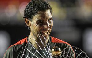 Nadal vuelve a lo grande tras su lesión y gana en Río de Janeiro