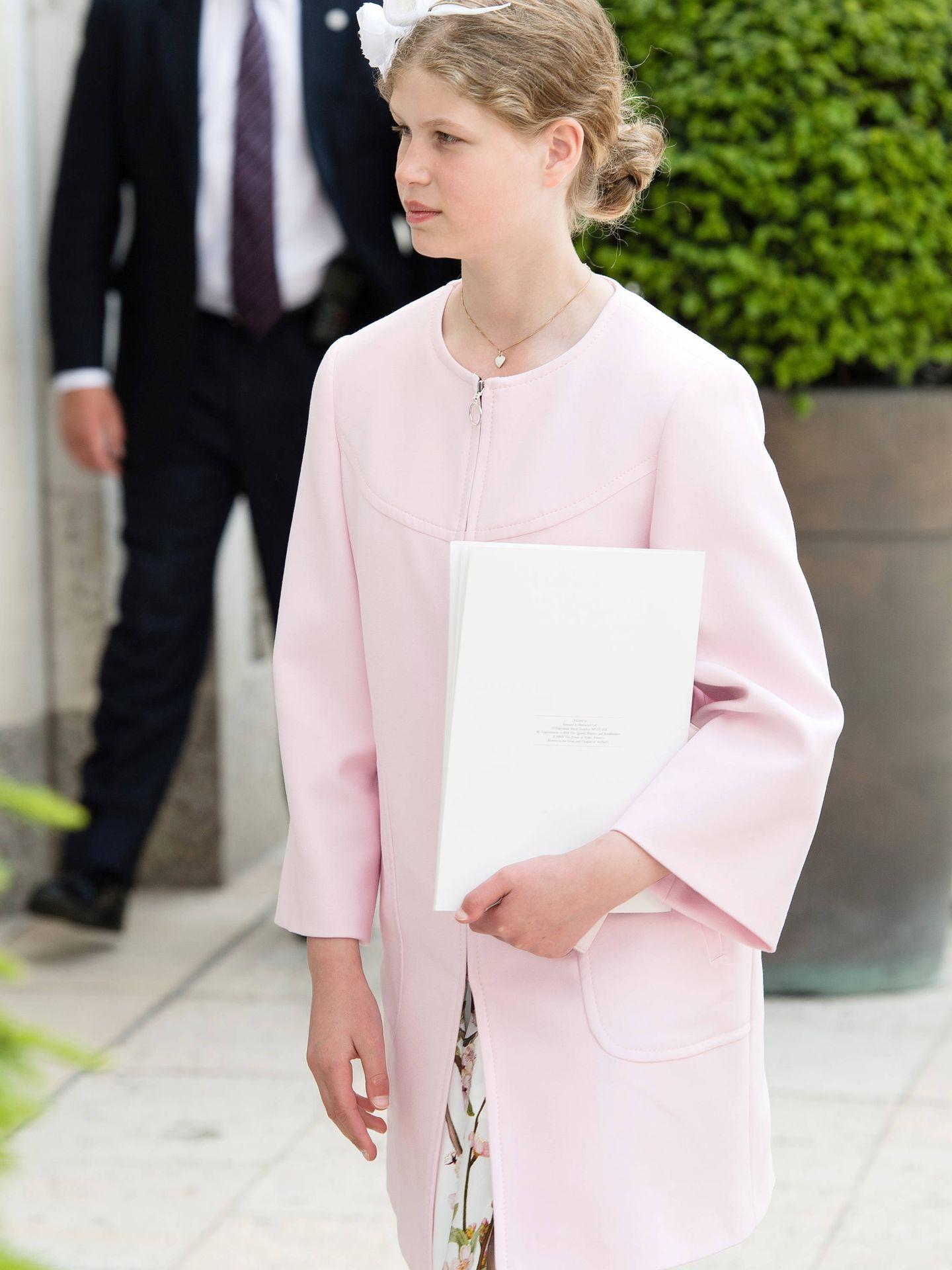 La nieta de Isabel II, una adolescente estilosa. (Getty)