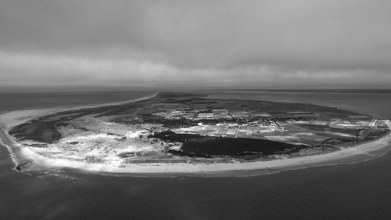 Vista aérea de Ameland,