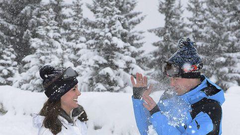 El príncipe George y la princesa Charlotte conocen la nieve