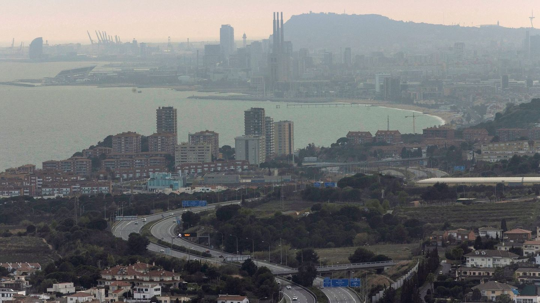 Barcelona es una de las ciudades europeas con peor calidad del aire. (EFE)
