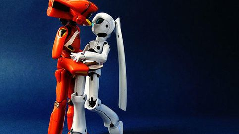 La historia de amor truncada entre dos 'bots' artistas