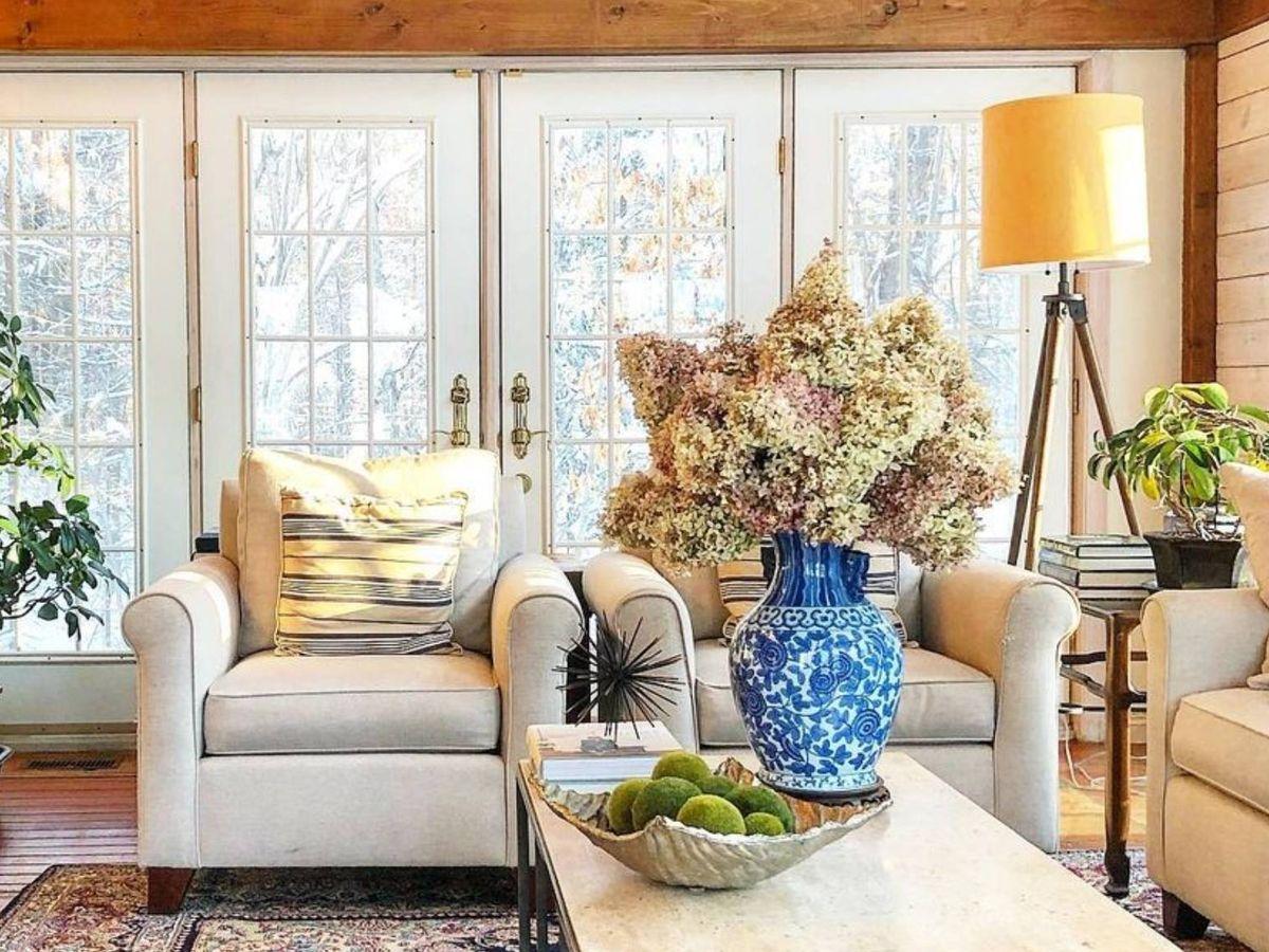 Foto: Ideas muy versátiles para aplicar el country core en tu casa. (Instagram @countryhomeandblooms)
