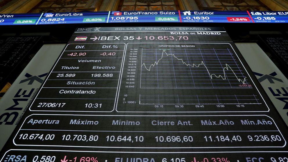 El Ibex cierra con leves caídas y la ampliación del Santander en el foco