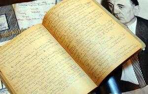 Aparece un manuscrito inédito del técnico que inventó el 'fútbol total'