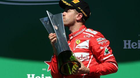 Vettel, el campeón del mundo que encuentra la felicidad en un cortacésped