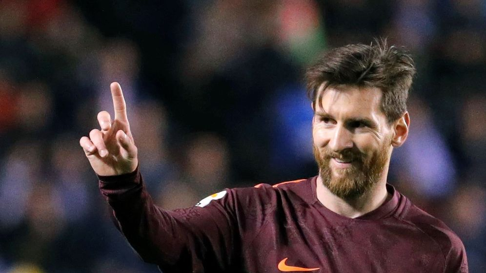 Foto: El delantero del FC Barcelona Leo Messi. (EFE)
