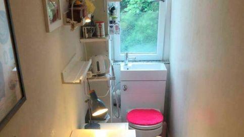 Intenta alquilar su cuarto de baño como una oficina poniendo una mesa y una silla