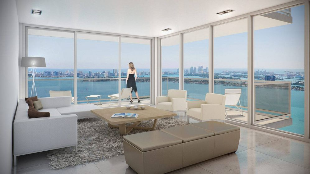 Foto: Una imagen digitalizada del interior de un apartamento. (EFE)