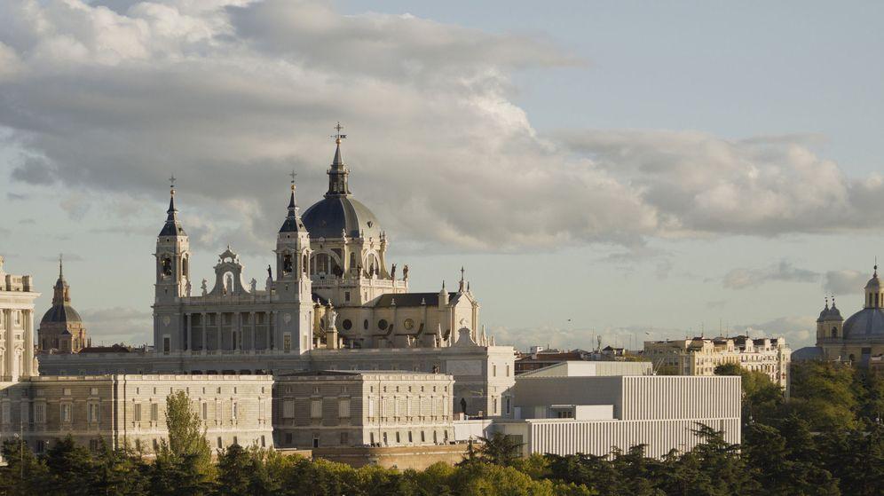 Foto: Fotografía facilitada por los Premios FAD del proyecto de intervención en el Museo de las Colecciones Reales de Madrid. (EFE)