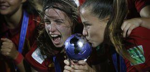 Post de Eva Navarro y Cata Coll, el antes y después del fútbol femenino en España