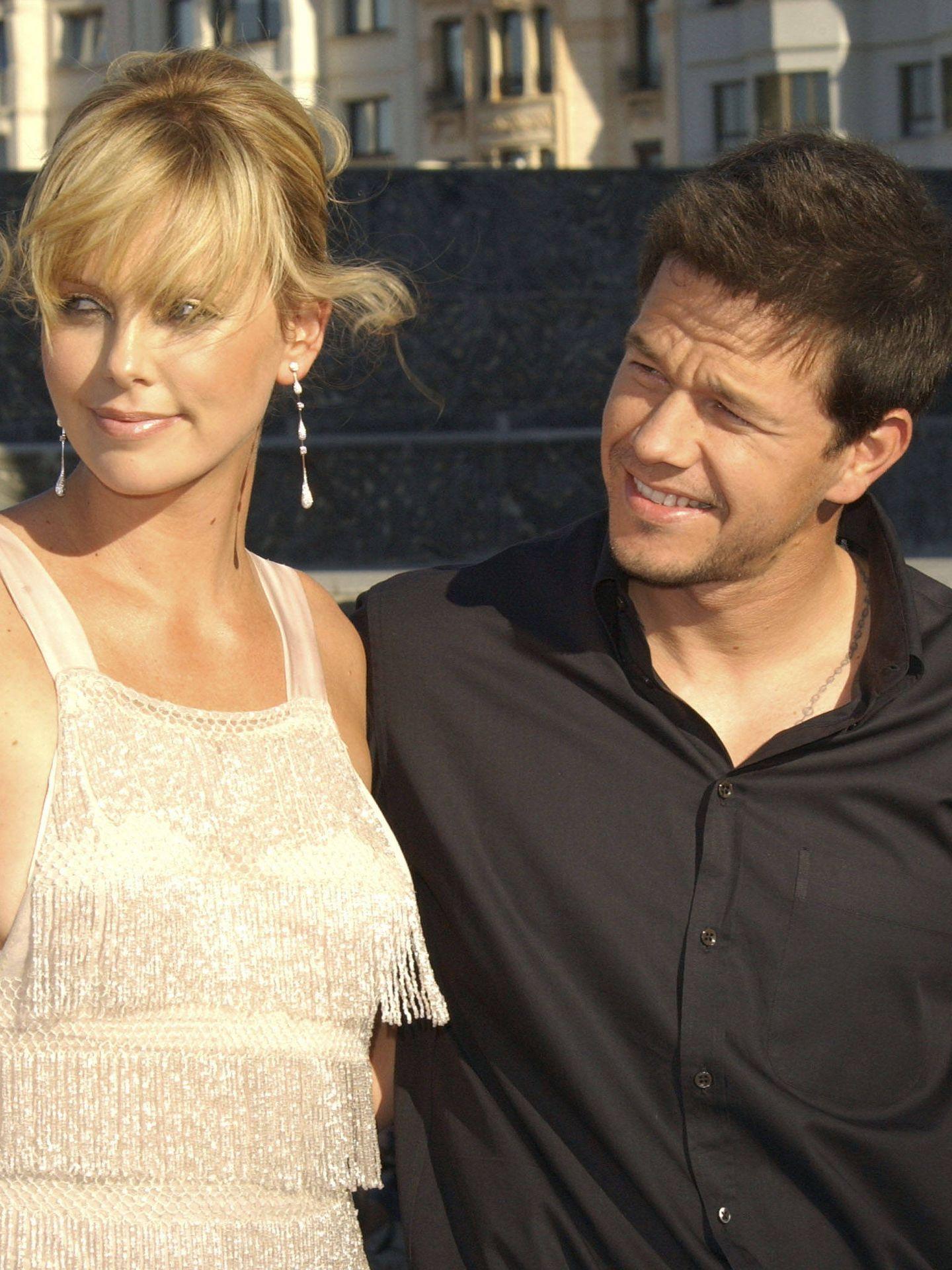 Charlize Theron y Mark Wahlberg también hicieron lo propio. (Getty)