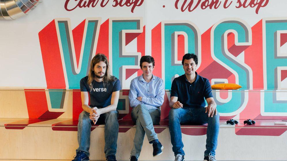 Foto: Los fundadores de Verse.