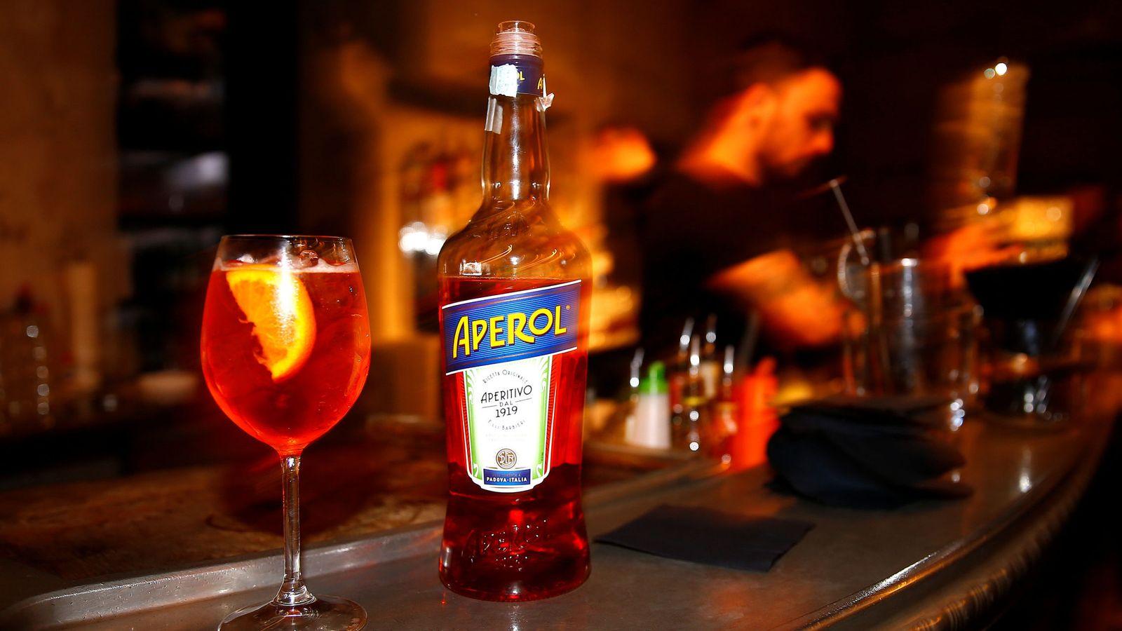 Foto: Spritz cocktail.