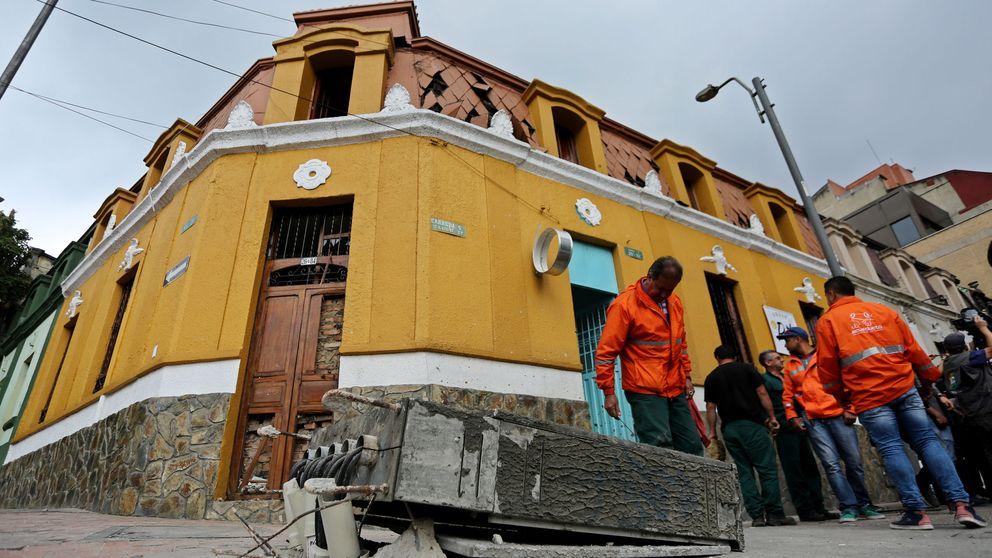 Un policía muerto y 31 heridos en Bogotá por una bomba junto a una plaza de toros