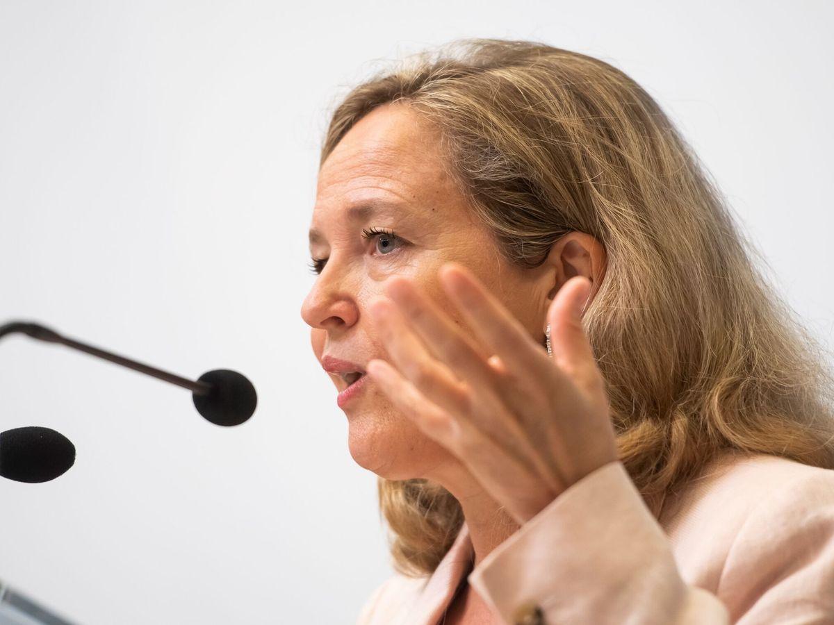 Foto: La vicepresidenta Nadia Calviño. (EFE)
