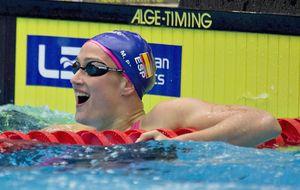 Mireia y Melani brillan en la 'Ryder Cup' de natación que se lleva EEUU