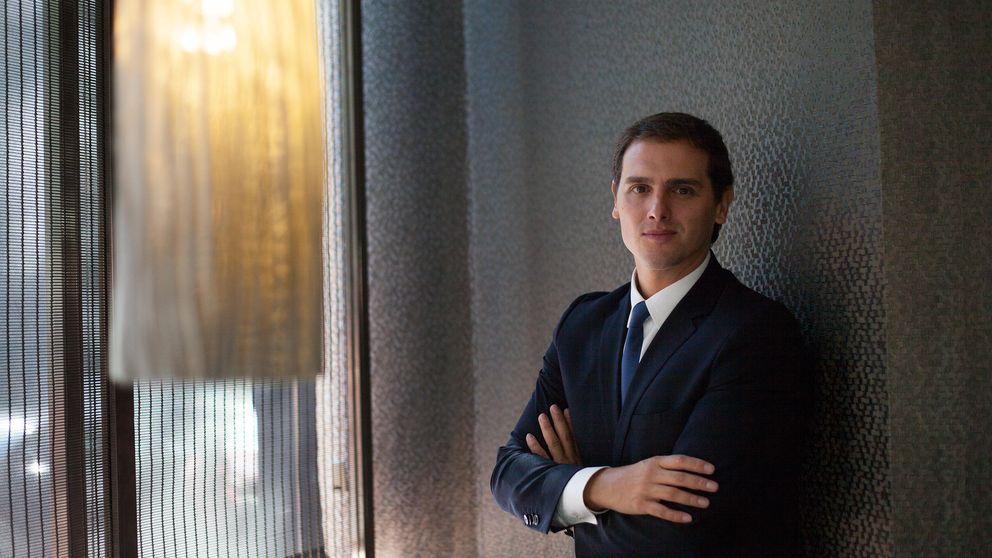 Rivera: La única forma de frenar a Mas es votar sí a España y a¡sí a Europa