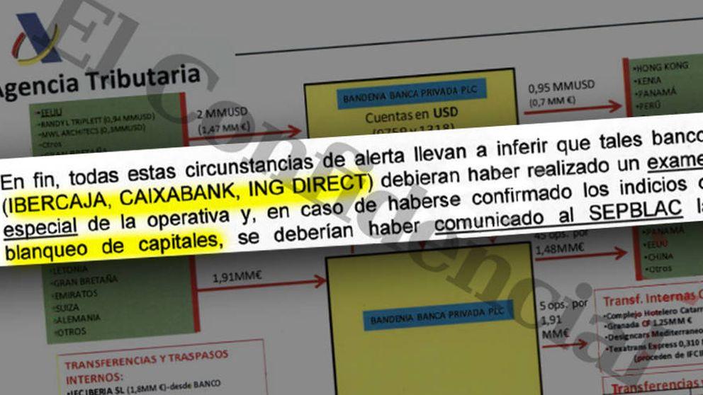 El juez investiga a ING, Caixabank e Ibercaja por mover dinero de narcos y proxenetas