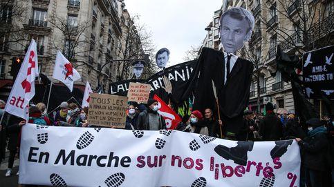 Al menos 142 detenidos durante una nueva jornada de protestas en Francia