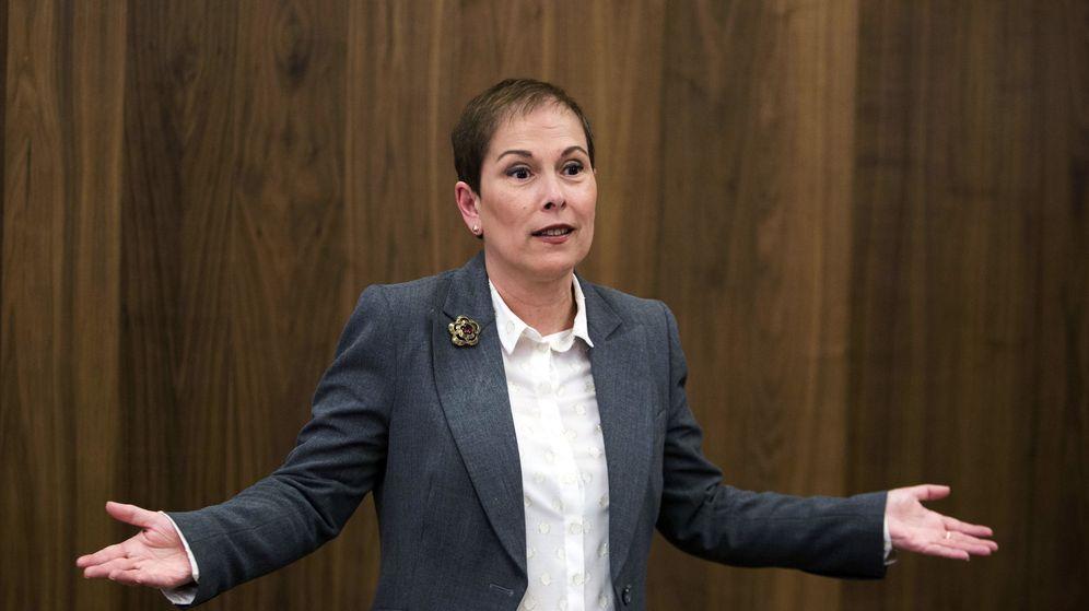 Foto: La presidenta del Gobierno de Navarra, Uxue Barkos. (EFE)