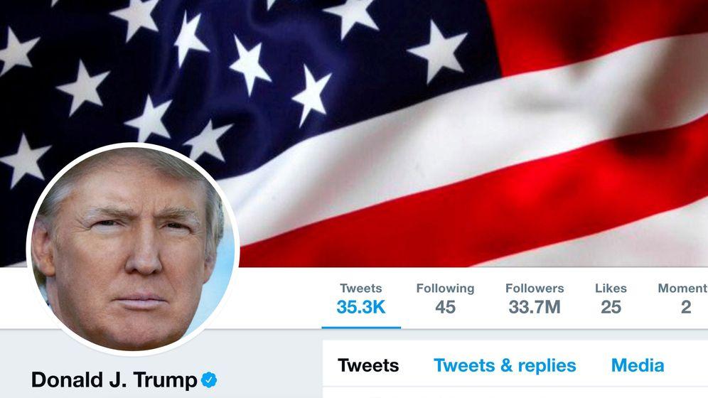 Foto: Cuenta oficial de Twitter de Donald Trump