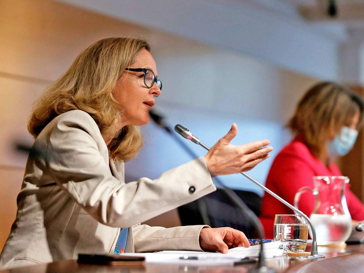 Foto: La ministra de Asuntos Económicos, Nadia Calviño. (EFE)