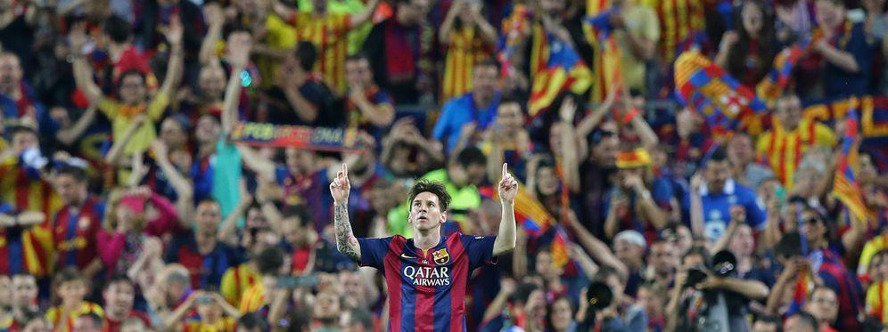 Foto: Un genial Messi fue determinante en el triunfo del Barcelona sobre el Athletic (Reuters)