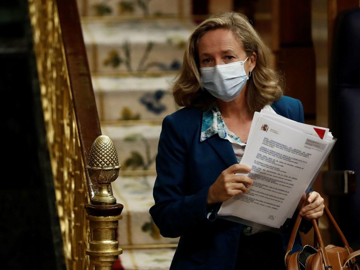 Foto: La vicepresidenta económica, Nadia Calviño (EFE)