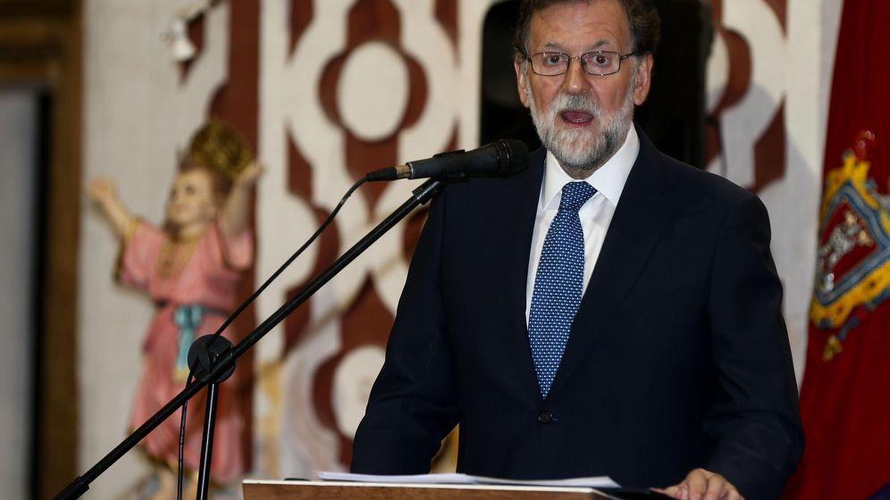 Foto: El expresidente del Gobierno español Mariano Rajoy en Quito (Efe)