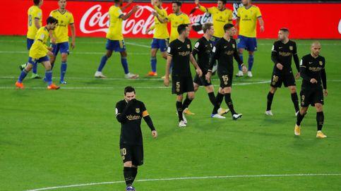 El Barça se despide de la Liga en diciembre tras caer ante el Cádiz (2-1)