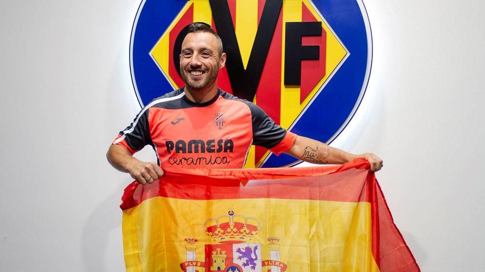 Foto: Santi Cazorla, sorprendido por su convocatoria con la Selección. (EFE)