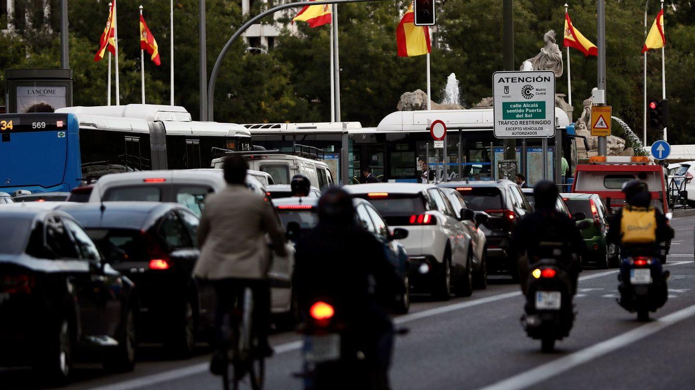 Plan anticontaminación: los vehículos C con dos pasajeros podrán pasar a Madrid Central