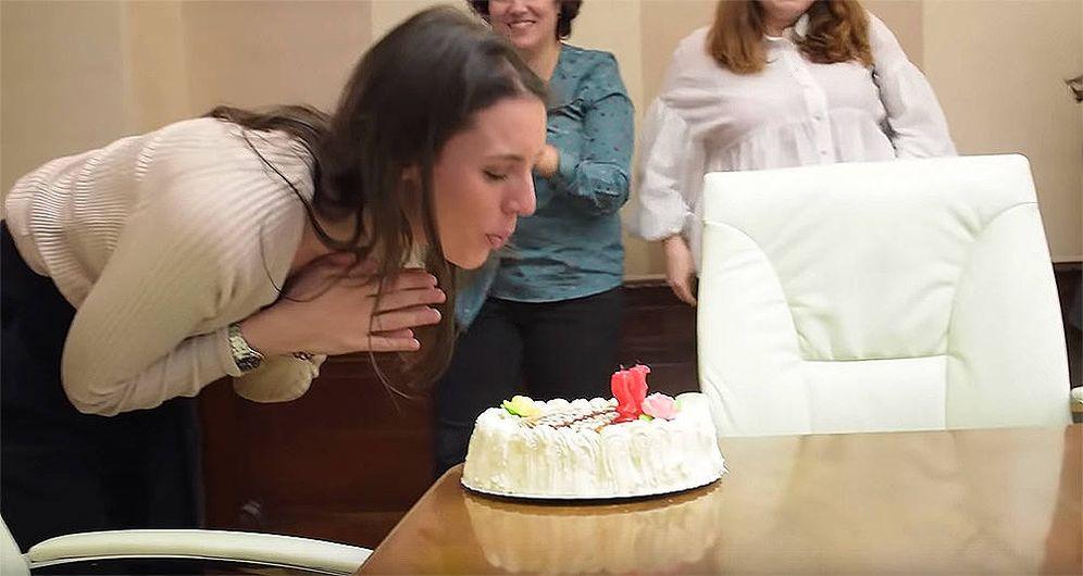 Foto: Captura del vídeo de Podemos.
