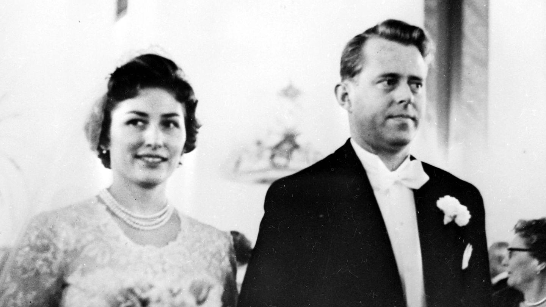 La princesa Astrid y Johan Martin Ferner,  el día de su boda. (Cordon Press)