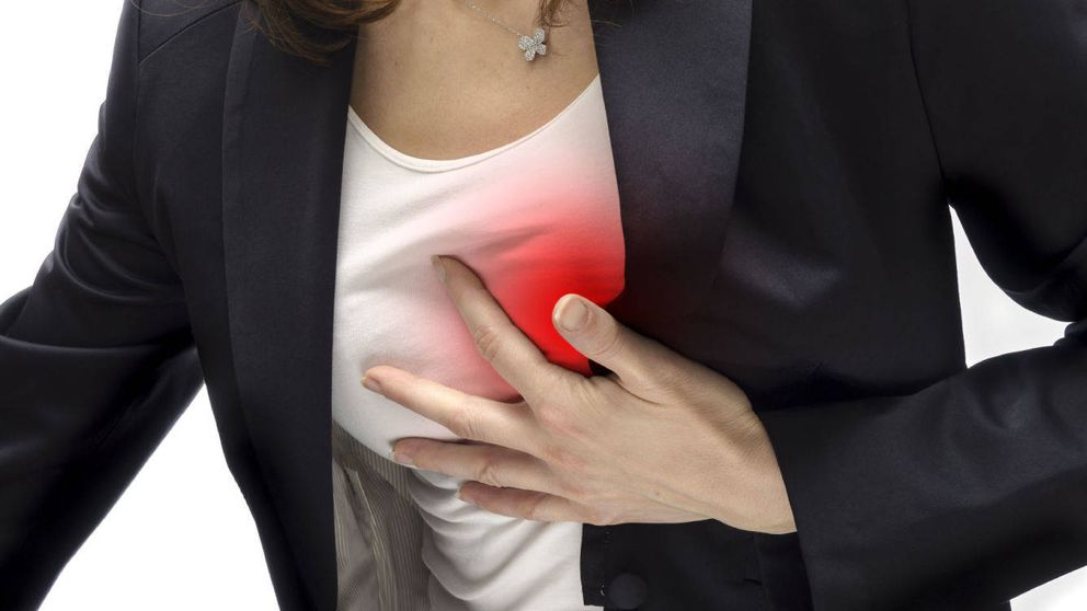 Colesterol, azúcar, sobrepeso... Factores que provocan una angina de pecho
